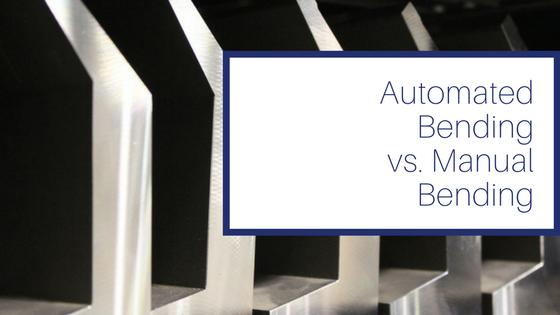 Automated Bending vs. Manual Press Brake Bending
