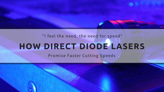 The Hype about Direct Diode Lasers (Speed is a Laser Cutting Game Changer)