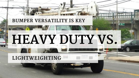 Heavy Duty vs. Lightweighting For Your Work Truck Bumper
