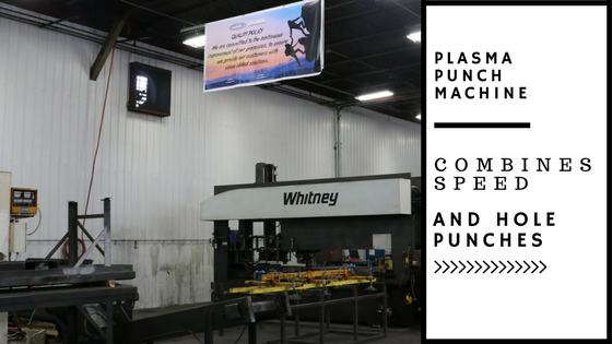 Cost-Effective Fabricated Steel Parts Start with Plasma Punch Machine