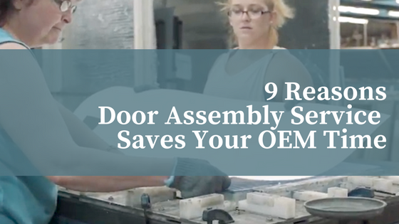 How RV Door Assembly Saves Your OEM Time